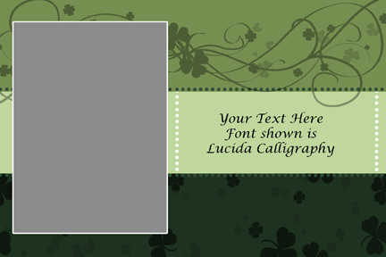 St Pattys Day Photo Template